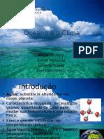 Oceano e Clima