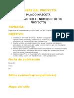 Plantillas de Proyecto Web html