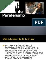 Tema Del Paralelismoooooo