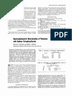 Analytical Chemistry Volume 28 Issue 10 1956 [Doi 10.1021%2Fac60118a012] Pflaum, R. T.; Howick, L. C. -- Spectrophotometric Determination of Potassium With Sodium Tetraphenylborate