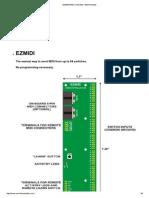 Ezmidi Midi Controller