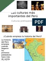 Las Culturas mas Importantes Del Peru