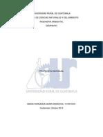 Modelo de Manejo de Residuos Solidos Cordillera Alux