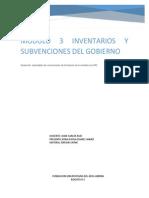 Modulo 3 Inventarios y Subvenciones Del Gobierno
