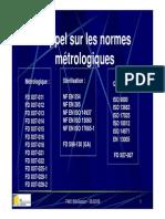 Cours Metrologie