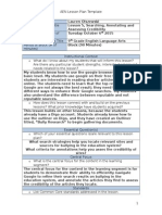 searching and annotating lesson plan