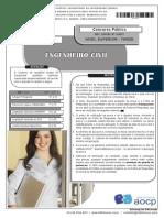Instituto Aocp 2014 Ufgd Engenheiro Civil Prova