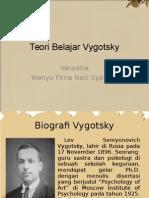 Teori Belajar Vygotsky Kelompok 7