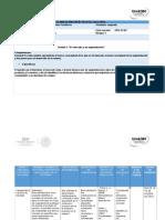 Planeacion Didactica Mercadotecnia