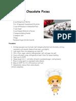 Chocolate Pixies Recipe