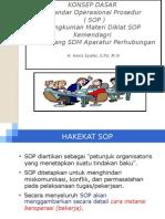 Sosialisasi SOP