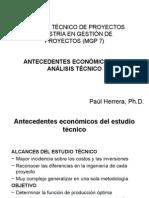 01 Antecedentes Económicos Del Análisis Técnico