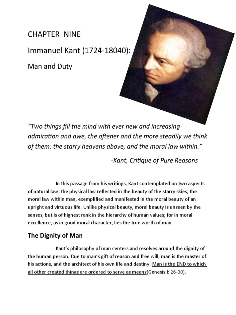 How can I organize this essay on Kant?