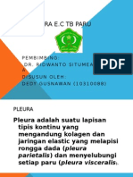 Efusi Pleura e.c TB Paru