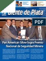 Pan American Silver logra Premio Nacional de Seguridad Minera - Eusterio Valentin Huerta Leon