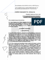 Acuerdo Plenario Nº1 2012