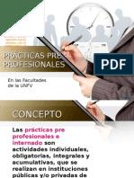 Practicas Pre Profesionales UNFV
