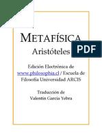 Aristoteles - Metafísica