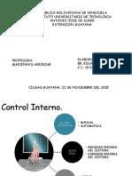 Control y auditoria informatica