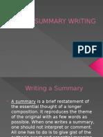Summary Writing 5s Ppt[1]