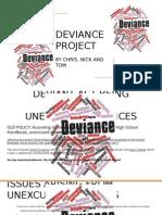 deviance project