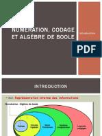 Numeration Codage Et Algebre de Bool
