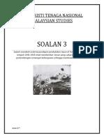 Penjajahan Jepun - Malaysian Studies