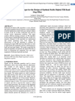 Soft Computing Technique for the Design of Optimal Stable Digital FIR Band Stop Filter