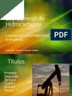 Ley General de Hidrocarburos