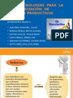 Tecnologia Para La Estandarizacion de Procesos Productivos