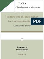 Fundamentos de Programacion (S23)