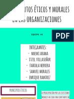 Fundamentos Éticos y Morales en Las Organizaciones