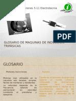 Glosario de Maquinas de Inducción Trifásicas