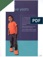 child development ch 12 five years
