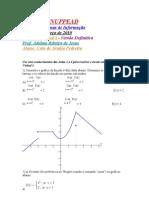 Nova Atividade Virtual de Cálculo I 2010 (Versão Final) (2º Semestre)