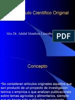 Articulo Científico Original|