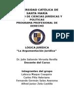 Logica Exposicion argumentacion juridica