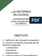 CLASE SOBRE LAS REFORMAS RELIGIOSAS  2015.pptx