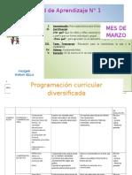 Unidades de Pampa Quehuar 2015