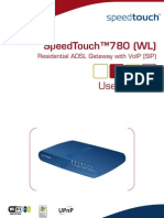 SpeedTouch 780WL UserGuide