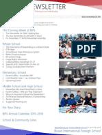 BIFS Newsletter, 2015-11-20 (English)