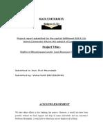 Land Law-judicial Activisim