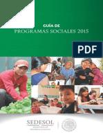 Guia de Programas Sociales 2015