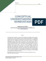 Israel. Conceptual Understanding of Homeostasis