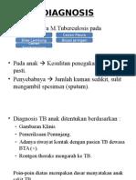 Diagnosis Tb Paru Anak