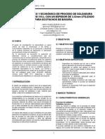 análisis técnico económico proceso de soldadura en ecotacho
