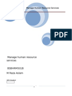 Manage Human Recource Services BSBHRM501B (Unit 1).docx