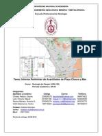 Informe Preliminar Chacra y Mar