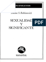 Diana s Rabinovich Sexualidad y Significante(1)