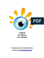 Manual iPhone VMEye guide